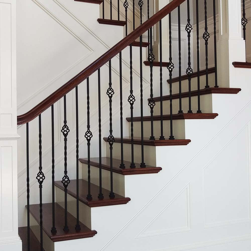 Affordable Mitered Return Stair Tread