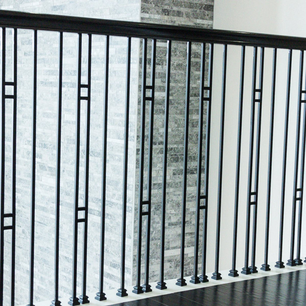 Modern Stair Iron Baluster Square Spindle