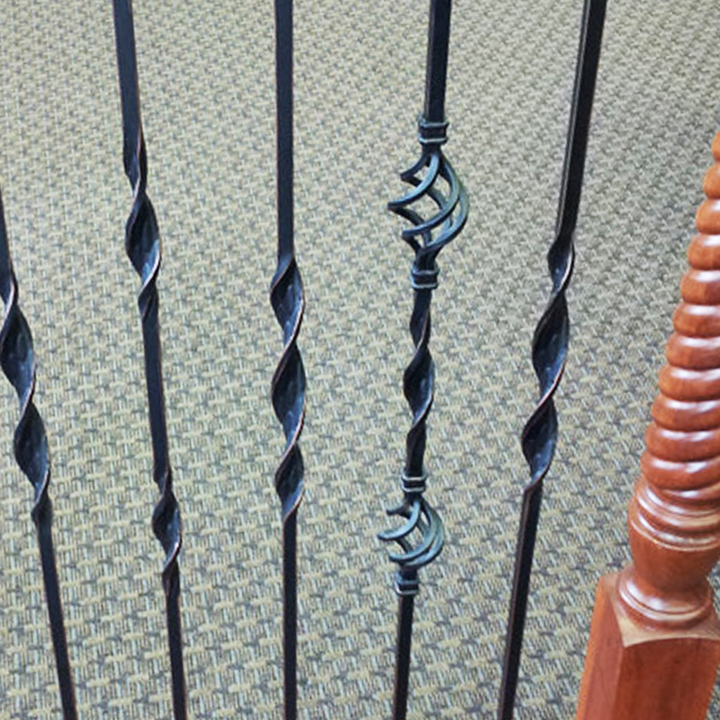 Double Basket & Ribbon Baluster