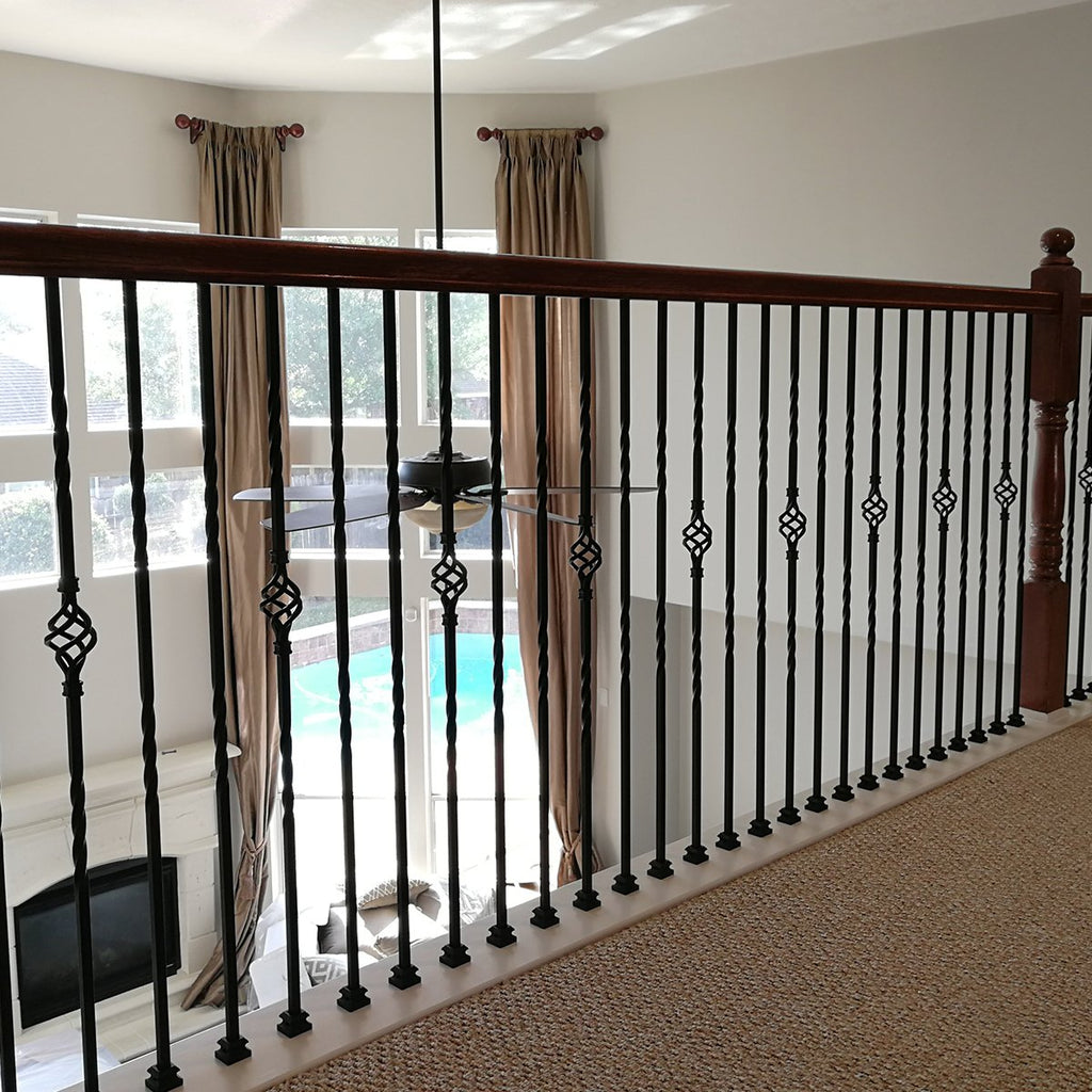 Basket Wrought Iron Baluster