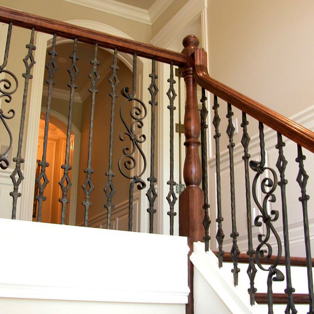 Staircase Railing Scroll Spindle 2.9.8