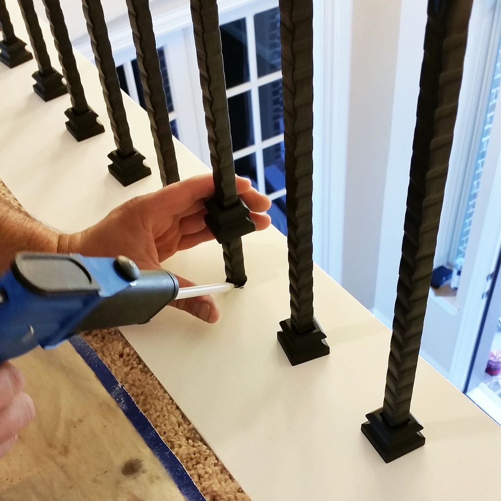 Epoxy for Iron Baluster Installation