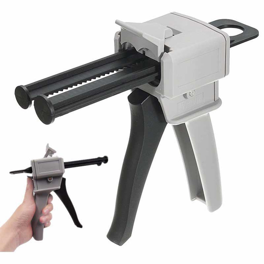 Economical Epoxy Gun for Stair Iron Baluster Installation