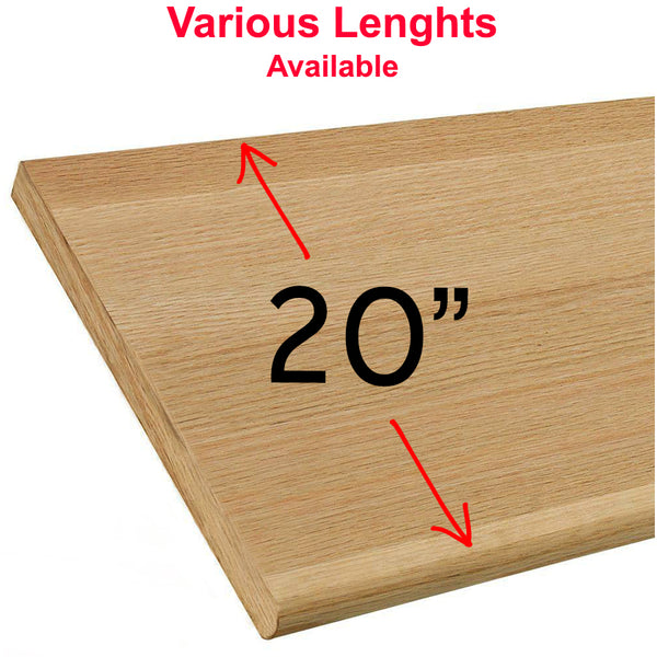 20 Quot Blank Hardwood Stair Tread Affordable Stair Parts