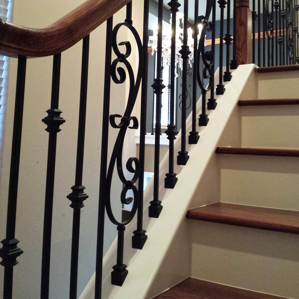 Cheap Iron Baluster Shoes for Staircase