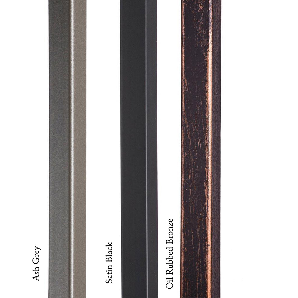 mega series plain bar iron baluster for stair railing system