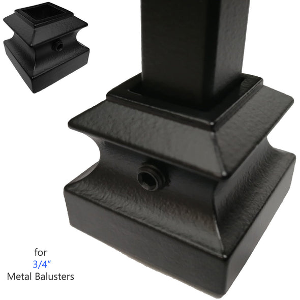 mega series flat shoe with set screw for staircase