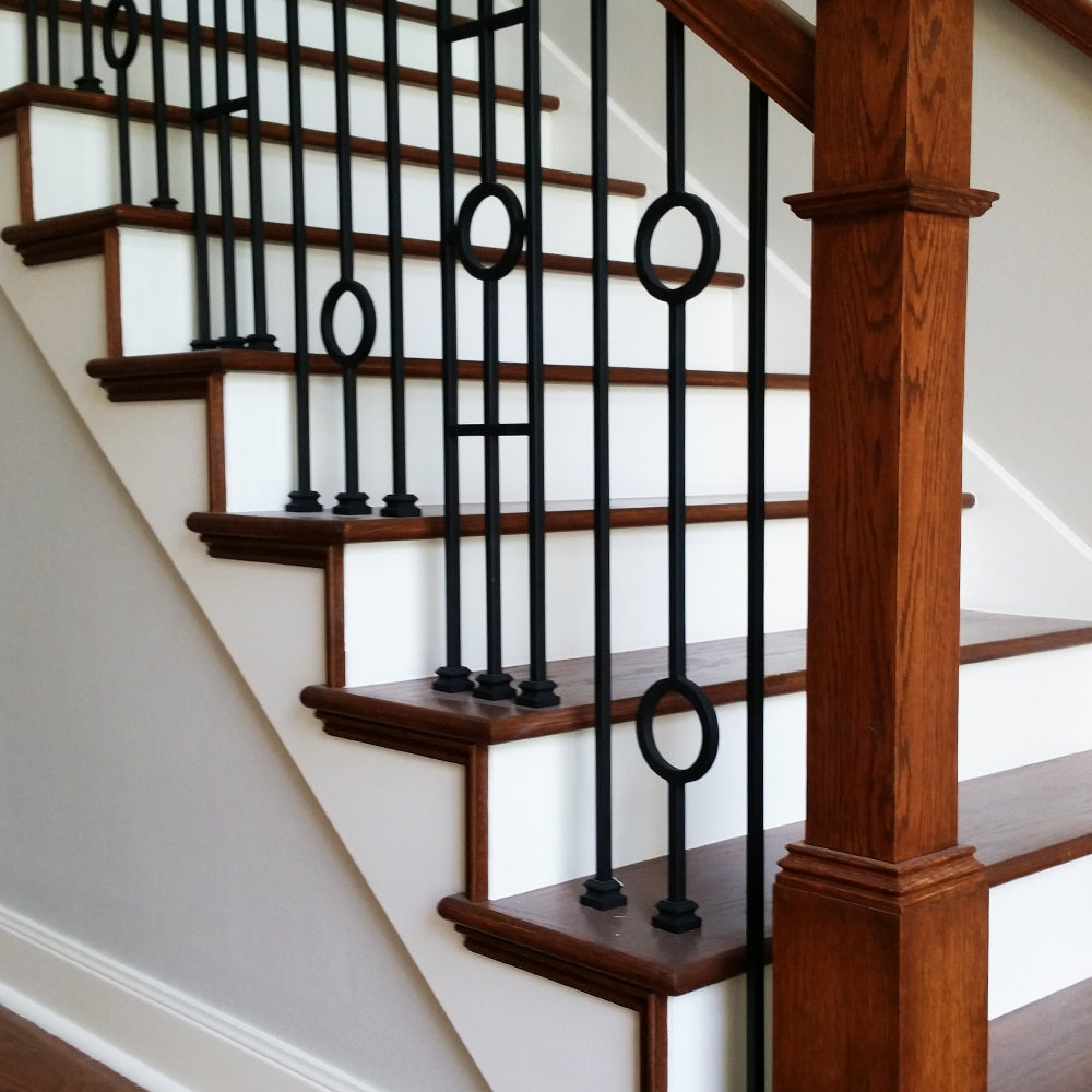 60 Quot Mitered Return Hardwood Stair Tread Affordable Stair
