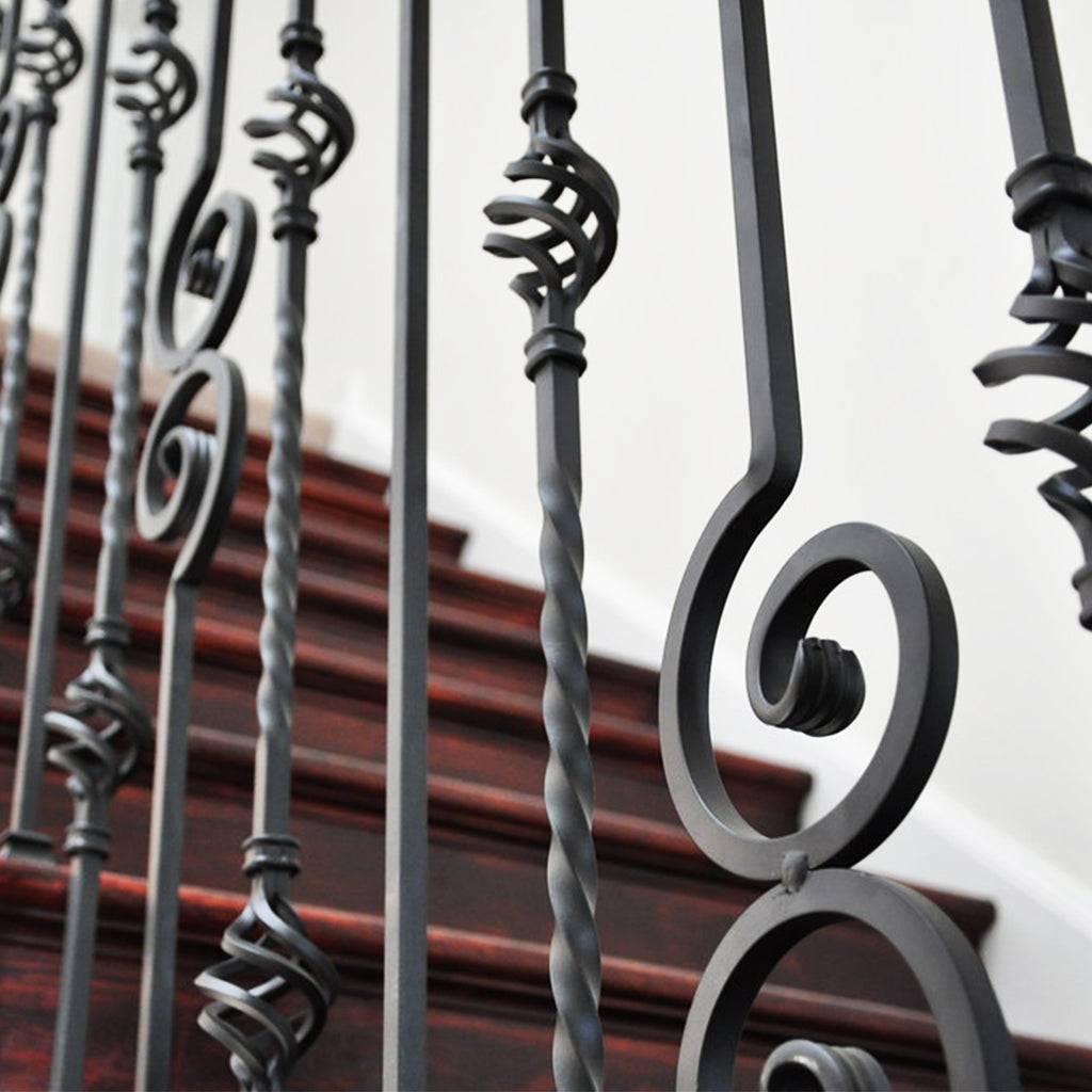 Cheap Scroll Iron Baluster