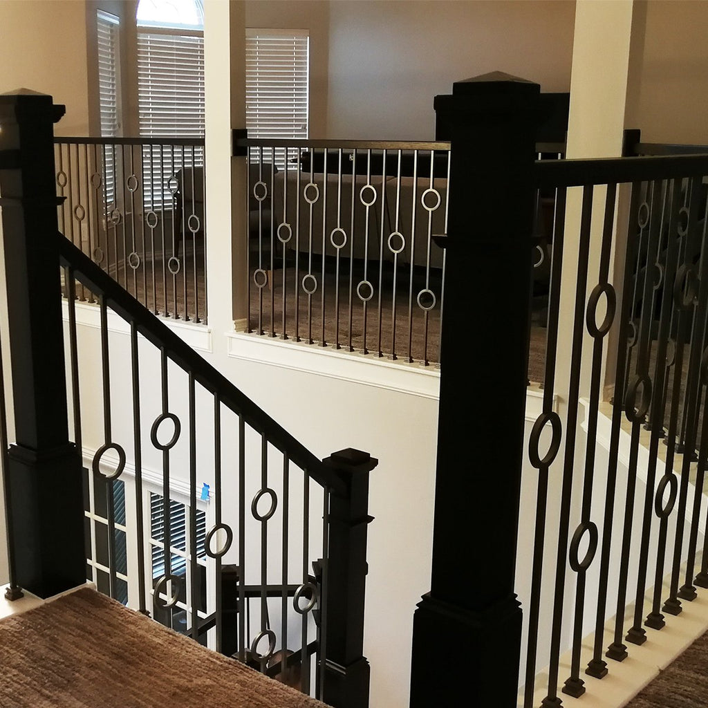 Cheap Stair Modern Iron Balusters