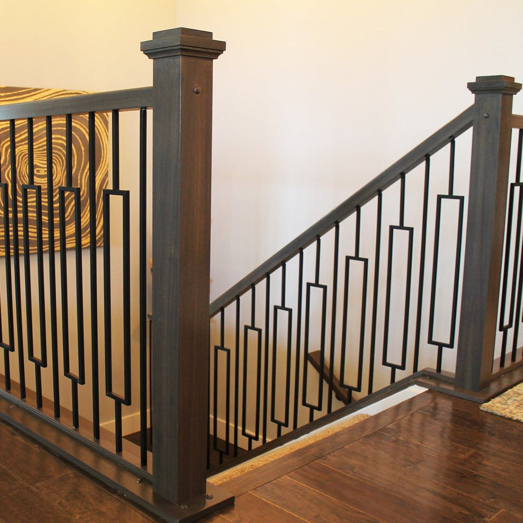 Modern Wrought Iron Balusters for Stairs