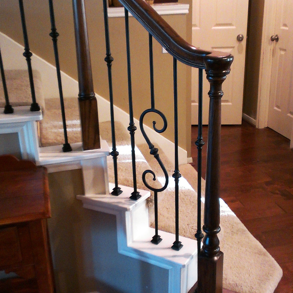 Stair Turnout Handrail Fitting