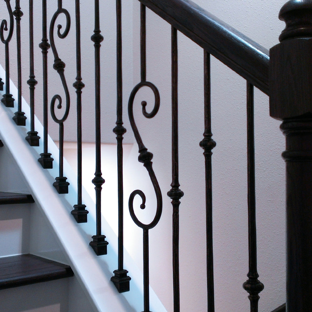 Iron Baluster Shoes for Metal Spindles