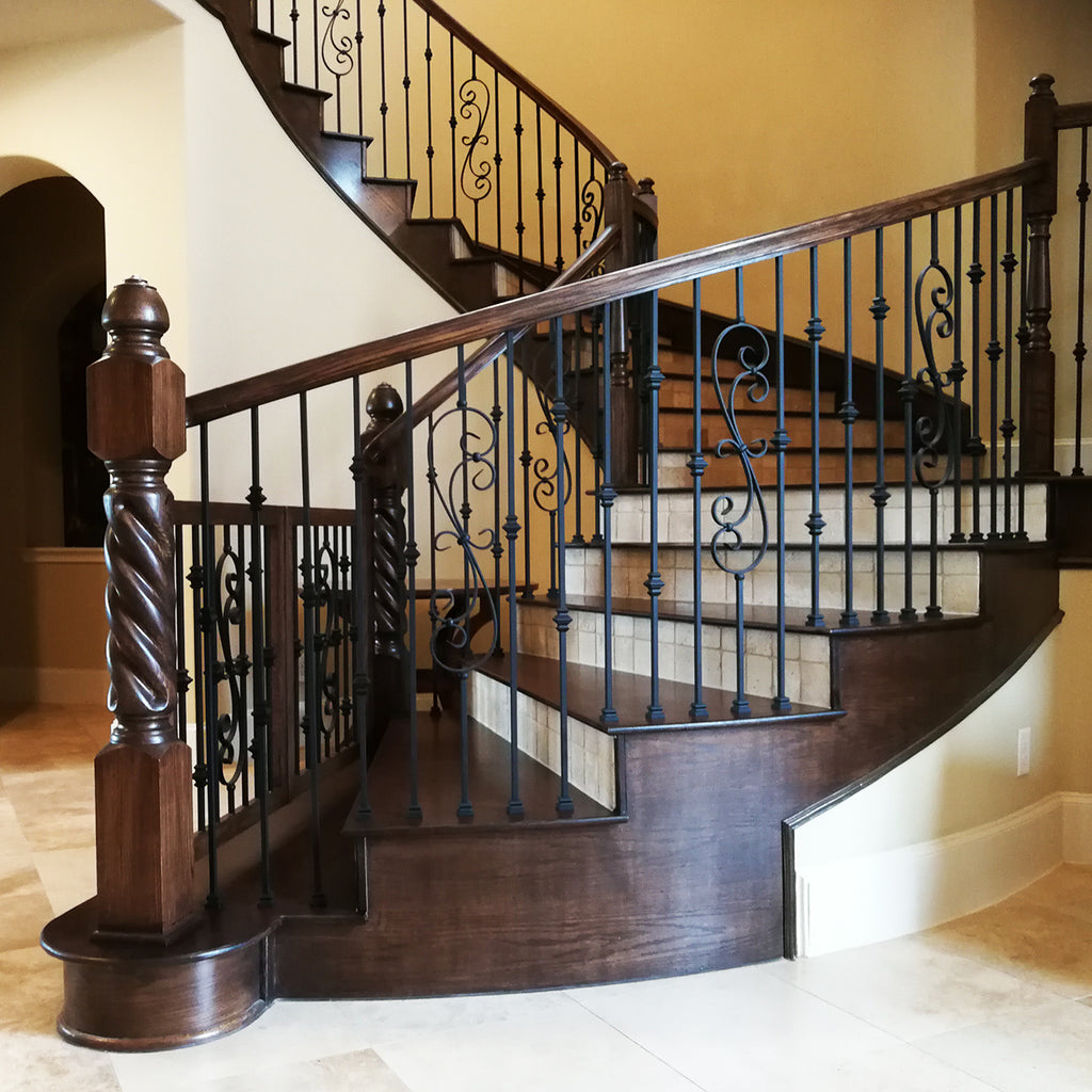 Wood Stair Handrail 6210