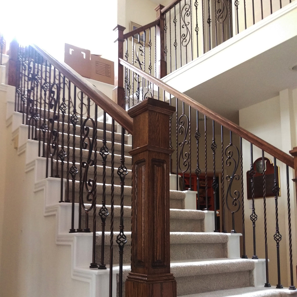 Affordable Stair Wood Handrail