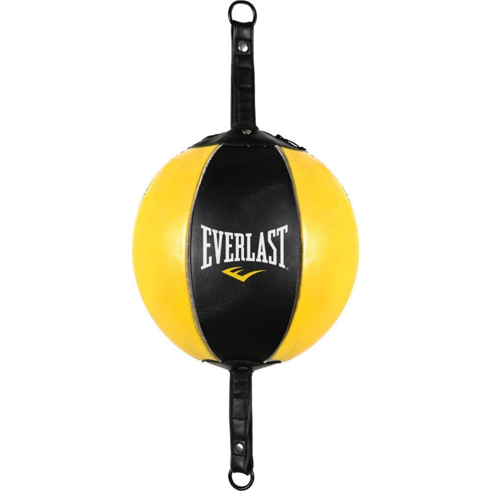 EVERLAST LEATHER DOUBLE-END BAG