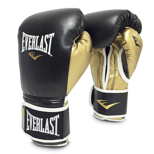 POWERLOCK HOOK & LOOP TRAINING GLOVES WITH SYNTHETIC LEATHER