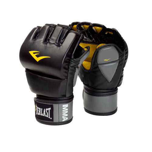 Everlast Singapore MMA Leather Grappling Gloves