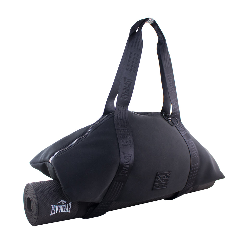 Everlast Flat Easy Fold Yoga Mat Bag (Black)