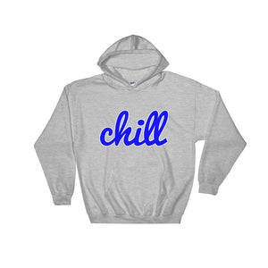 chillinoisUSA - chillinoisUSA  - mens clothing Blue Logo Hoodie - streetwear