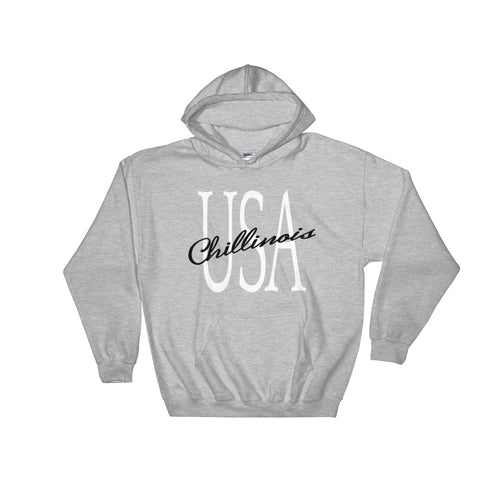 chillinoisUSA - chillinoisUSA  - mens clothing USA Hoodie - streetwear