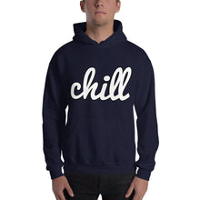 Load image into Gallery viewer, chillinoisUSA - chillinoisUSA  - mens clothing White Logo Two Hoodie - streetwear