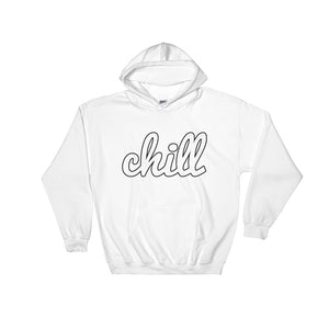 chillinoisUSA - chillinoisUSA  - mens clothing White Logo Hoodie - streetwear