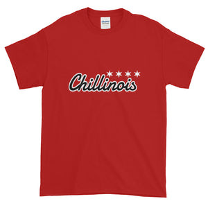 chillinoisUSA - chillinoisUSA  - mens clothing Script T-Shirt - streetwear