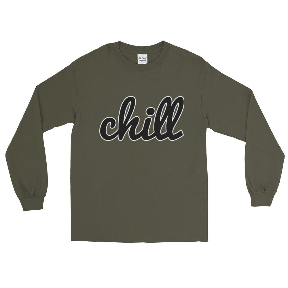 chillinoisUSA - chillinoisUSA  - mens clothing Long Sleeve T-Shirt - streetwear