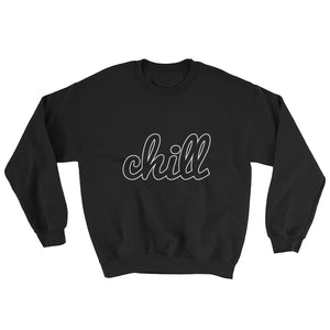 chillinoisUSA - chillinoisUSA  - mens clothing Black Logo Crewneck - streetwear