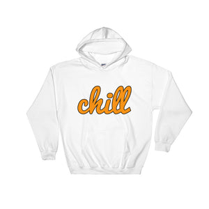 chillinoisUSA - chillinoisUSA  - mens clothing Orange Logo Hoodie - streetwear