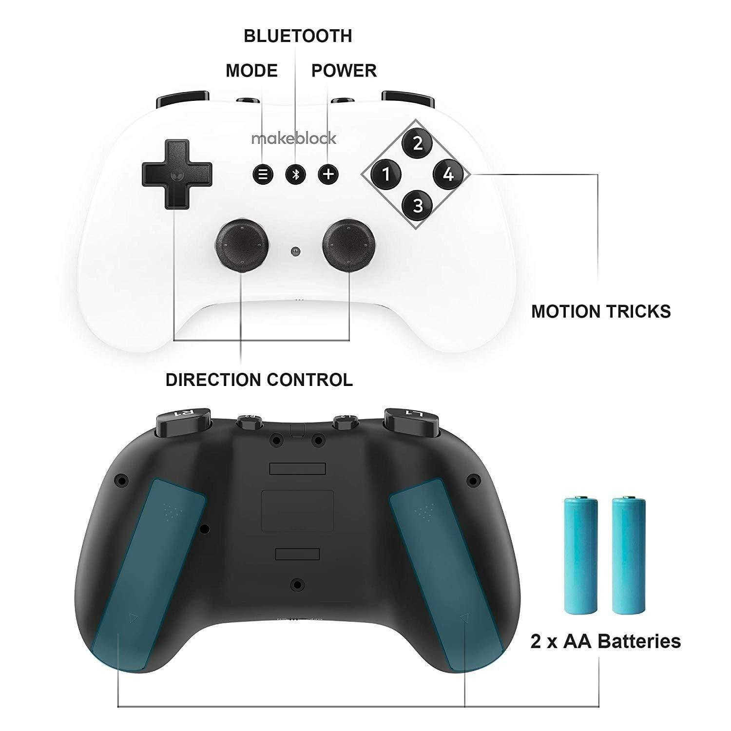 Makeblock Screen-Free Wireless Bluetooth Remote Controller Joystick for Airblock/ mBot/ Starter/ Ranger/ Ultimate 2.0 (Age 6+) - MAKEBLOCK