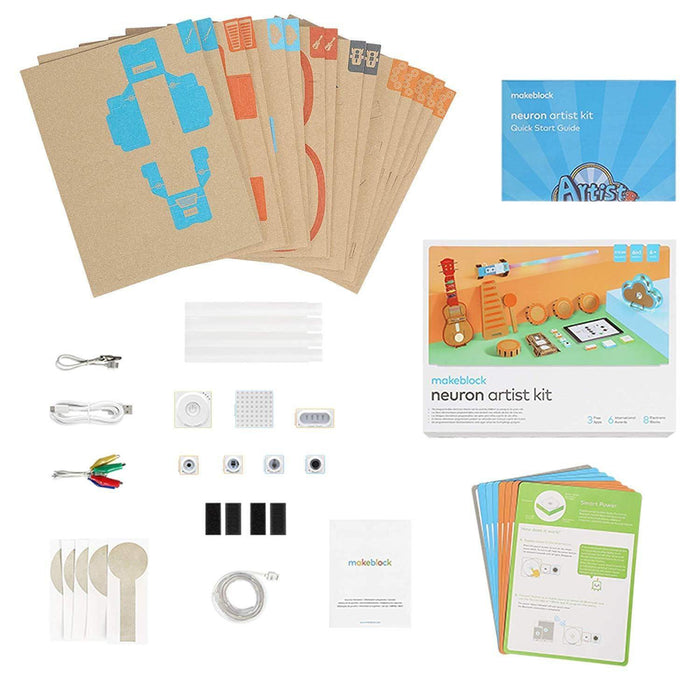 Makeblock Neuron Artist Kit DIY Programmable Electronic Building Blocks for Age 6+ - MAKEBLOCK