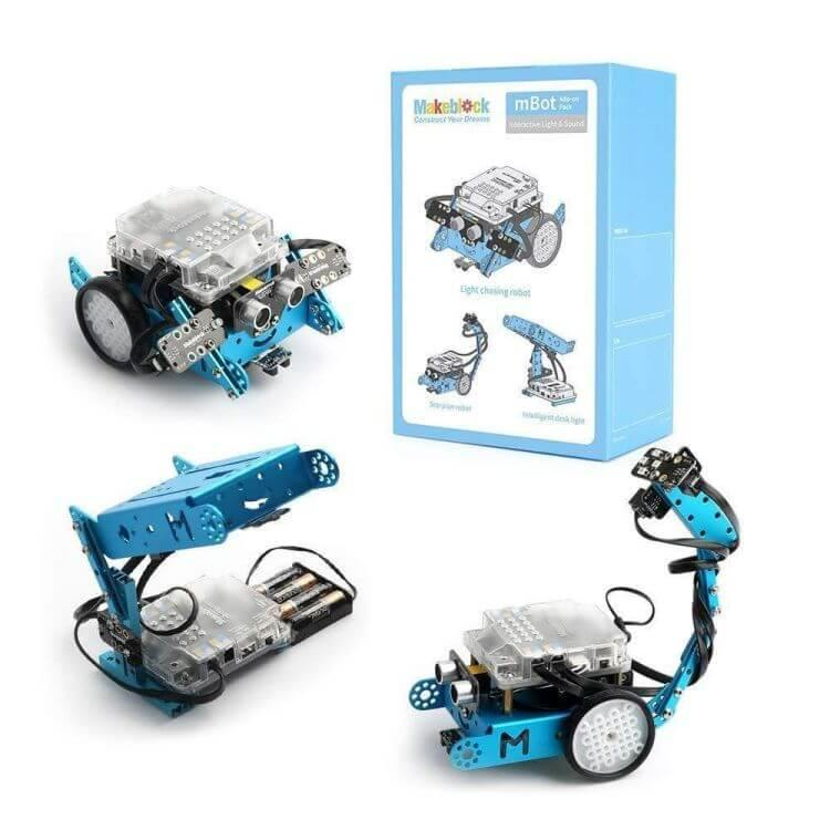 Interactive Light & Sound Robot 3-in-1  Add-on Pack for mBot