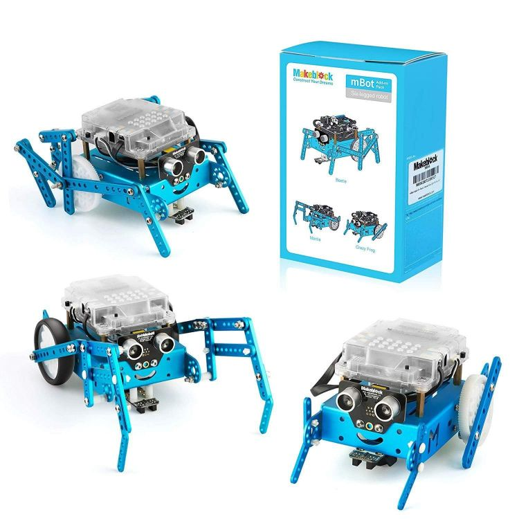 Six-legged Robot 3-In-1 Add-on Pack for mBot