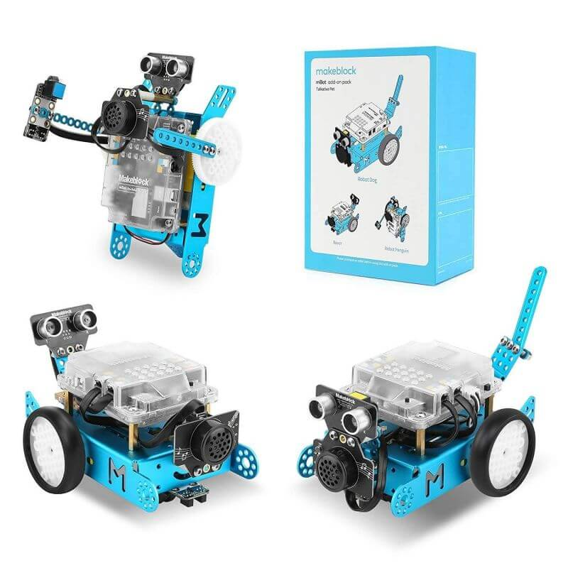 Talkative Pet Robot 3-in-1 Add-on Pack for mBot