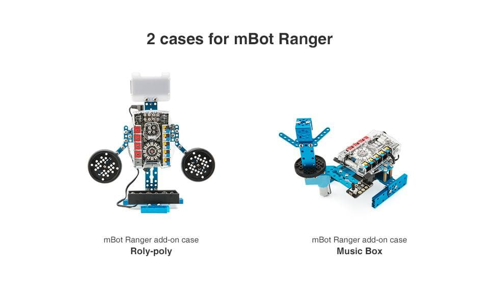 Makeblock mBot & mBot Ranger Add-on Pack, 7-in-1 Perception Gizmos Add-on Pack, 7 shapes - MAKEBLOCK