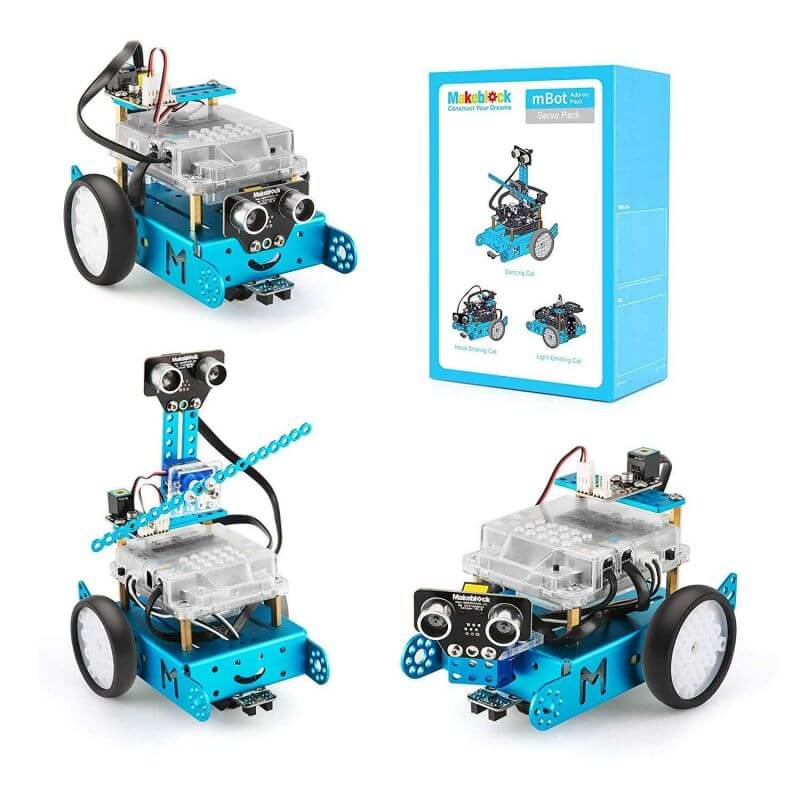 Servo Cat Robot 3-in-1 Add-on Pack for mBot
