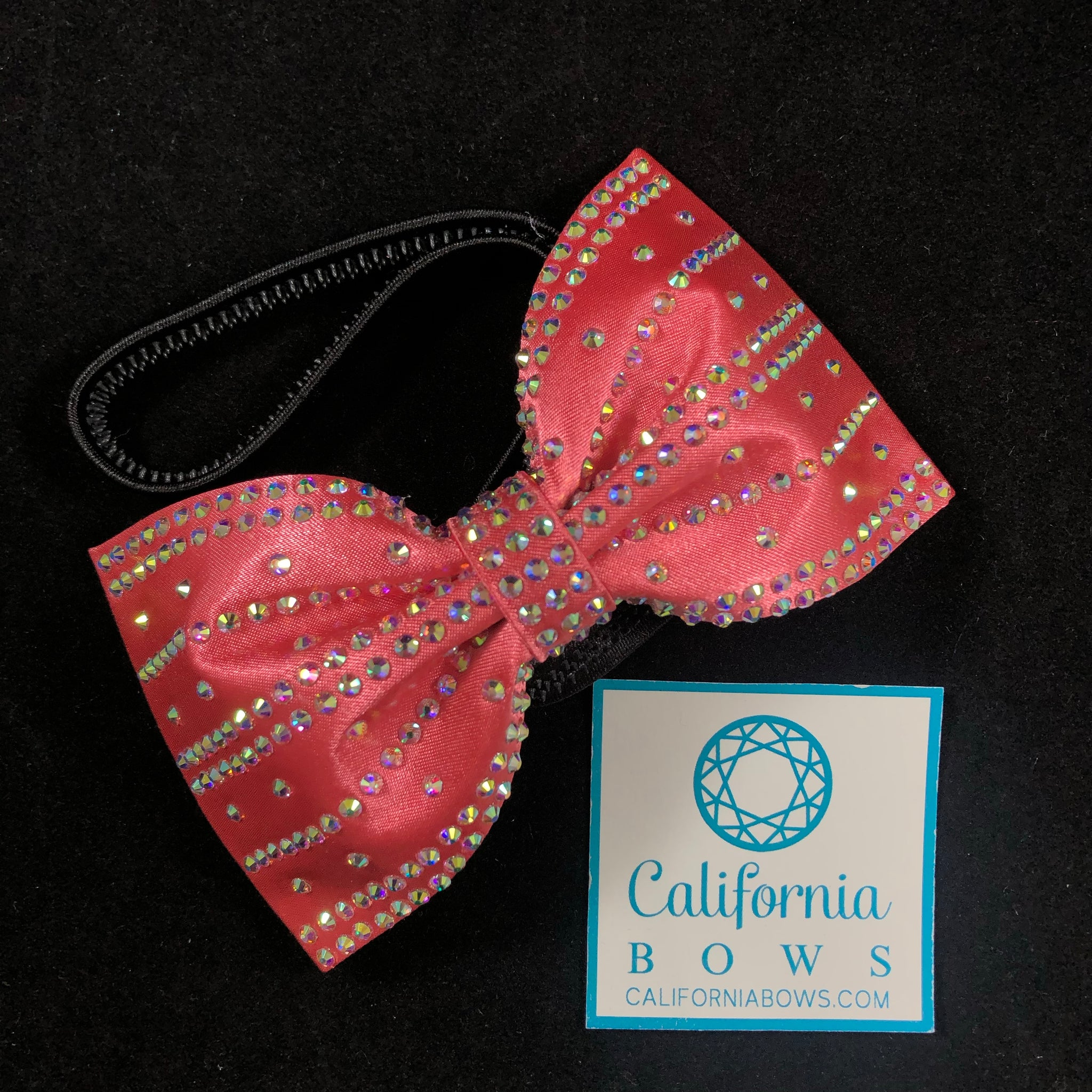 The Brianna Headband Bow - coral