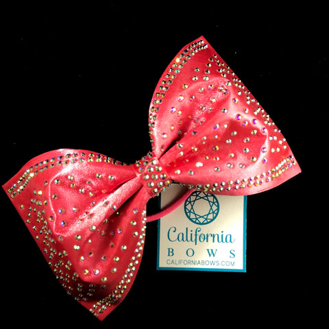 The Ivy Bow- coral pink