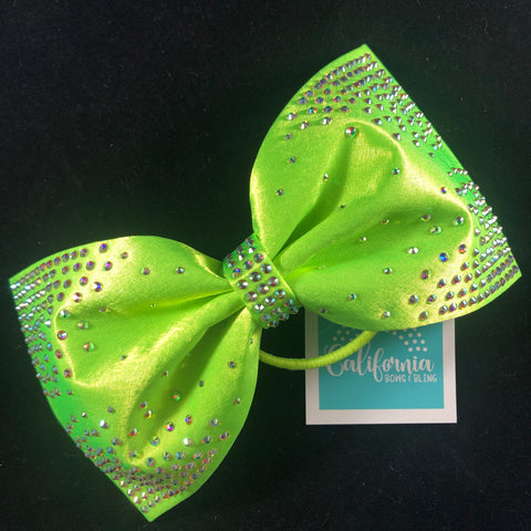 The Wendy Bow- neon green