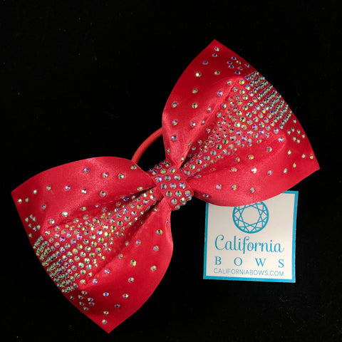 The Olivia Bow-neon red