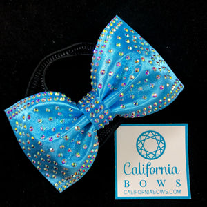 The Ivy Headband Bow - turquoise