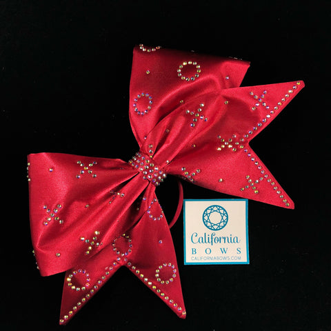 The X's and O's Bow- red