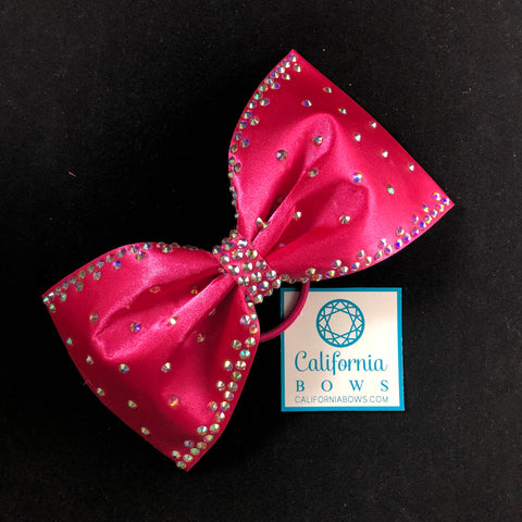 The Martha Bow- Hot pink