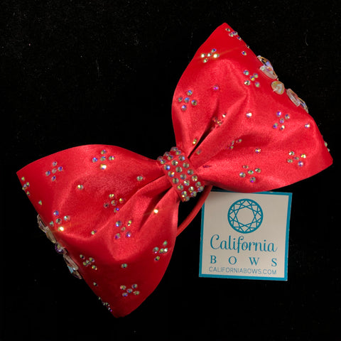 The Lila Bow-red