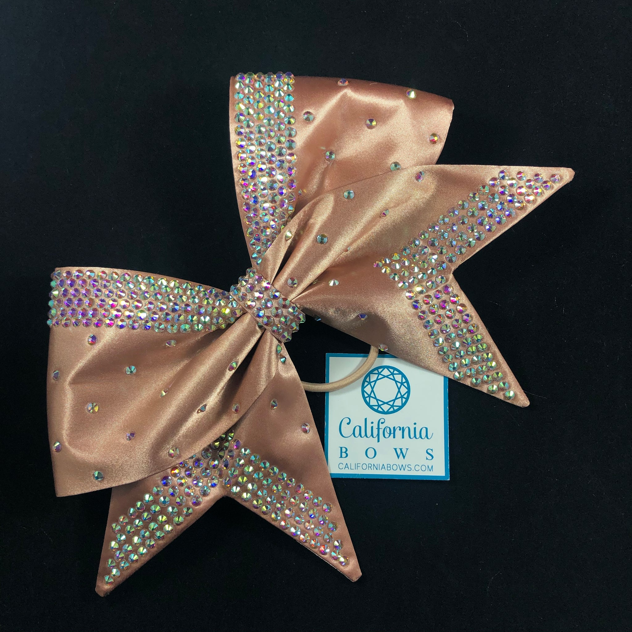 The Belle Bow- rose gold