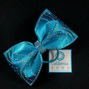 The Jessica Bow- turquoise