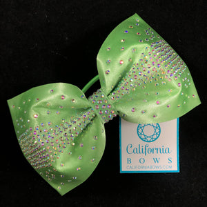 The Olivia Bow- pear green