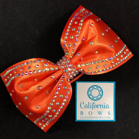 The Poppy Bow- orange